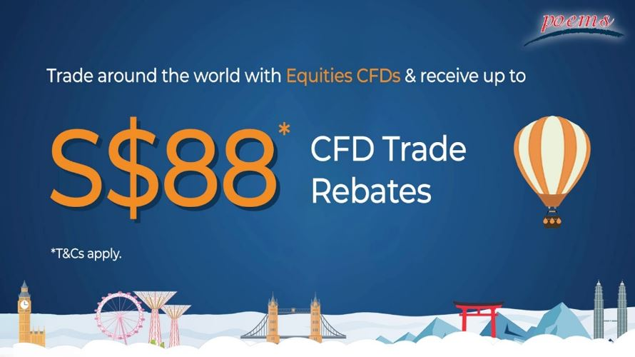 Equities Shares CFD 88 Trade Rebates