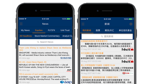 POEMS Mobile 2.0 Smart, Multi-lingual News