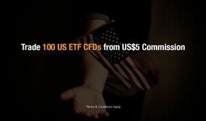 Phillip CFD Promotion | US ETF CFD S$5 Minimum Commission