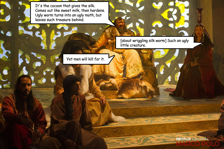 Phillip CFD Blog | Kublai Khan & Price Chabi Dialog